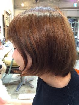 営業後スタッフの髪をカット_20160318_2