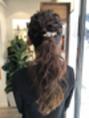 wedding hair arrange ポニーテール 【上尾】