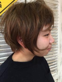 営業後スタッフの髪をカット_20160318_4