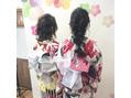 川越美容室craftのレンタル浴衣撮影会ー♪♪♪