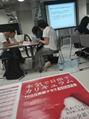 お休みの日に、講習。スタッフとともに。