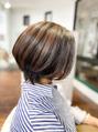 神戸舞子 くせ毛で髪が多くてもショートヘア