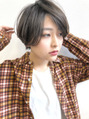 カジュアルな雰囲気に似合わせたショートヘア☆