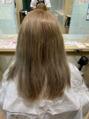 まだまだ人気髪質改善酸性ストレートのその後のカラー