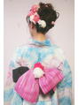 トリコ ヘアアンドケアスペース(trico hair&care space)浴衣☆