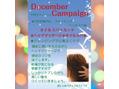 アートヘア12月のキャンペーン!