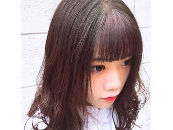 YouTuber佐藤そるとちゃん前髪ポイントカラー!!!_20180816_1