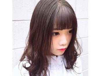 YouTuber佐藤そるとちゃん前髪ポイントカラー!!!_20180816_2