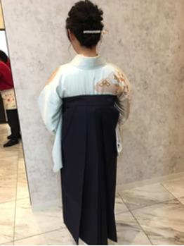 卒業式袴着付け_20180313_1