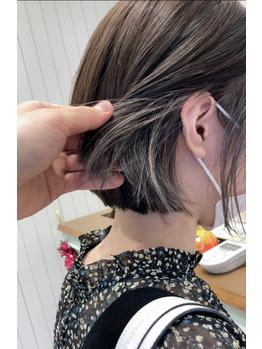 【坪井】インナーカラー×ミニボブ_20201024_2