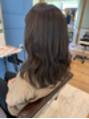 アグ ヘアー ルシア 浜松初生町店(Agu hair lucia)ブリーチなしグレージュ☆