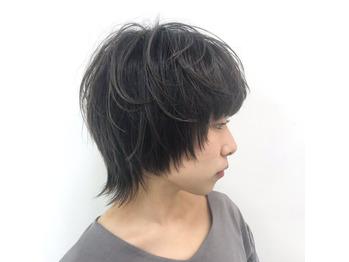 黒髪ショート×マッシュウルフ_20181112_1