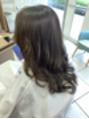 イルミナで 柔らか暗髪カラー!