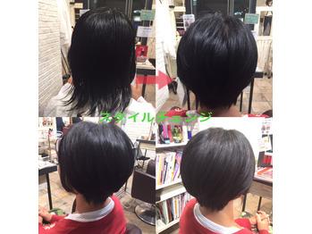 伸びきった髪をバッサリショートボブに!!高田馬場 _20170425_1