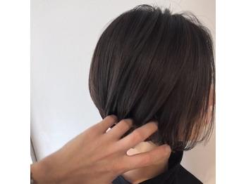 本日のカルテ【84】透明感カラー&立体ショート_20180805_2