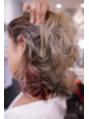 イルミナカラーを用いたヘアデザイン