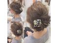 ダウンスタイルヘアセット