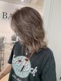 バンクスヘアー(BANK'S HAIR)グラデーションを生かしてハイライトカラー