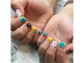 LINE FRIENDS NAIL