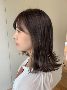 さりげないインナーカラー&ハイライトがオシャレ☆_20190711_2