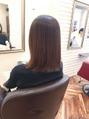 髪に優しくても癖は伸びます。自然な仕上がりの縮毛