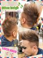 【草加】外国人風短髪メンズヘアー