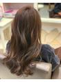巻き髪との相性◎
