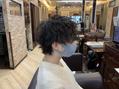 キャラ 池袋本店(CHARA)骨格生え癖に沿ったパーマ【スパイラルパーマ/池袋】