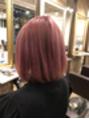 派手髪ピンク