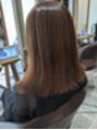 美髪。ツヤツヤストレート