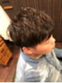 【担当arima】メンズナチュラル刈上スタイル