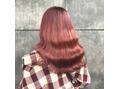SHION 原宿 【KAITO】ブリーチ1回でピンク