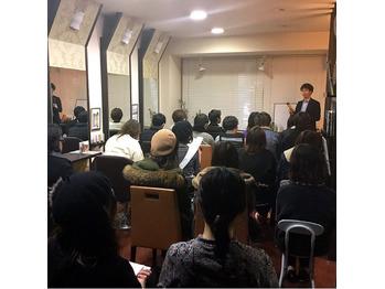 最新の皮膚毛髪理論勉強会へ参加してきました☆_20190214_1