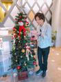 お店もクリスマス仕様に…☆*.