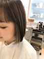 ショートBOB × サイドインナーカラー