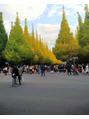 神宮外苑をお散歩