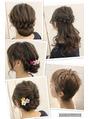 選べるヘアセット5種