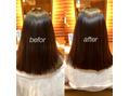 広がりやすい髪も髪質改善!