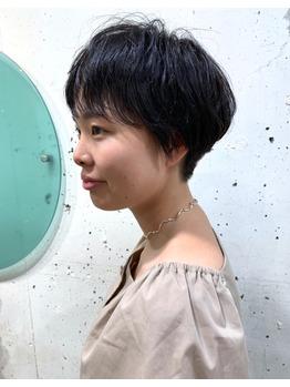 お客様スタイル☆ショートヘア_20191006_1
