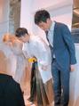 おんなじ顔の兄の結婚式でした(^^)イシイ