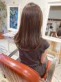 素敵な大人ベージュブラウンカラー☆ツヤ髪☆