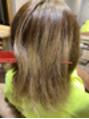 超ブリーチハイダメージ毛に縮毛矯正。