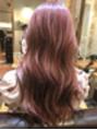 ピンク系ダブルカラー