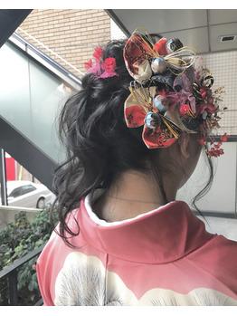 卒業式☆ヘアセット_20170310_1