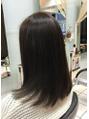 ヘアースタジオ ジェイワン(hair studio J ONE)カラーと進化系PIM濃密ヘアエステ+浸透アイロン
