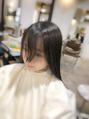 秘技、前髪パーマ。