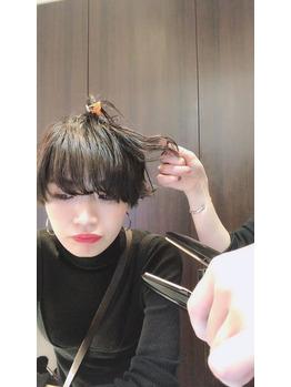 ショートヘアのアレンジ!_20181227_2