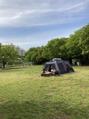 テント遊び