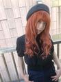 OrangeロングHair(^^♪
