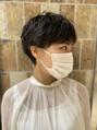 ピークアブー アヴェダ アトレ恵比寿(PEEK-A-BOO AVEDA)マスクに似合う髪型は、マッシュショートで決まり☆